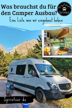 Mercedes Sprinter Camper, Ford Transit Camper, Vw Camper, Vw Crafter Camper, Van Home, Van Camping, Campervan, Motor Car, Caravan