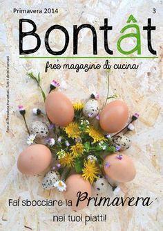 Bontât, free magazine di cucina. Primavera 2014