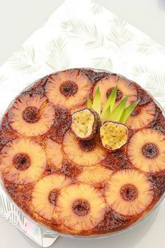 Gâteau renversé à l'ananas sans gluten Sem Lactose, Lactose Free, No Cook Desserts, Dessert Recipes, Patisserie Sans Gluten, Good Food, Yummy Food, Sweet Bakery, Juice Plus