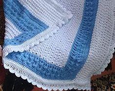 Baby-boy blanket