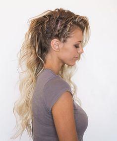Beachwaves, Braids & Bombshell Extensions @burnitbeauty Hair: @hairandmakeupbysteph PC: @chantelmarie