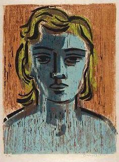 Werner Drewes, woodcut