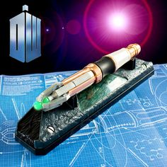 Gorgeously designed and constructed, Doctor Who's favourite screwdriver is a powerfully programmable device for controlling your Earth devices.