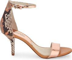 Michael Kors snake skin heels