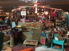 Ya Ya Gurlz booth at The Marketplace Warrenton