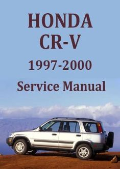 1999 honda crv repair manual