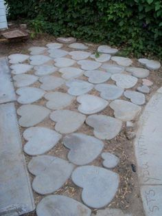 HEART PAVERS