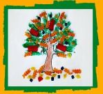 Autumn Crafts: Fall Pasta Noodle Tree Craft and Fall Song for Kids! Autumn Crafts, Fall Crafts For Kids, Autumn Art, Crafts To Do, Kids Crafts, Art For Kids, Arts And Crafts, Seasons Activities, Autumn Activities
