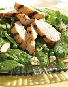 Check out this great Chicken Pesto Spinach recipe http://www.FreshExpress.com/recipe/chicken-pesto-spinach.aspx