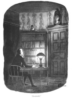 """""""Occasionally"""" by Charles Addams"""