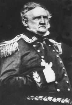"General Winfield Scott, ""Old Fuss and Feathers"""