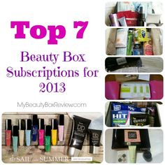 Cosmetic+Box+Subscriptions | ... Here are my current picks for top beauty box subscriptions for 2013