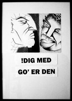 """Saatchi Art Artist Hans Simtanda Caspersen; Drawing, """"Neighbours"""" #art"""