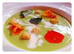 Chilled nasturtium soup | The Post Ranch Kitchen