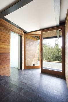 modern entry design by san francisco architect Quezada Architecture
