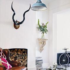 Moderne weiße Wohnzimmer Wohnideen Living Ideas Interiors Decoration