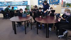 Using computer tablets in the classroom