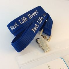 JW.ORG Best Life Ever Lanyard Convention gift by BlueMonkeyGallery