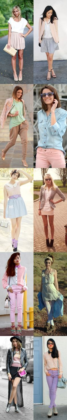 Pastel/Fashion/Autumn/Fall/Woman/Girl