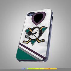 Mighty Anaheim Duck Uniform NHL Team  Design  by hoyhoycases, $14.99