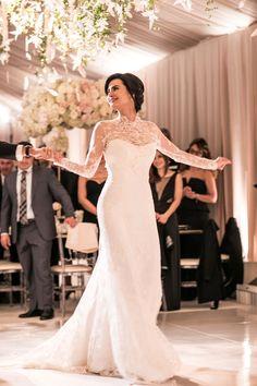 Featured Photographer: Samuel Lippke Studios; wedding dress idea