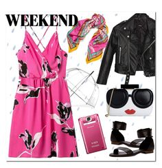 """Rainy weekend"" by cilita-d ❤ liked on Polyvore featuring ShedRain, Diane Von Furstenberg, Nasty Gal and Alice + Olivia"