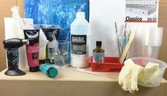 Peinture fluide: Technique de l'Acrylique Pouring   Amylee