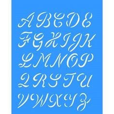 Stencil Alfabeto Maiúsculo 20x25 - OPA