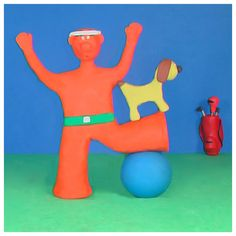 Bob liked to stretch before his workout 😬 sometimes supervised 😬😂 #golf #fun #art #yoga #gymlife #design #fitness #dogs #cute #bob_scooby #funny #gym #artist #picoftheday #dogstagram #instagramjapan #arts_gallery  #pilates #artoftheday #motivation #friends #doglife #workout #humor #abs #photo #clay #pingame #artlife #madness #golffitness