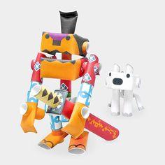 Piperoid Robots by Takashi Tsunoda