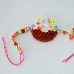 Perler Bead Bracelet / Doughnut