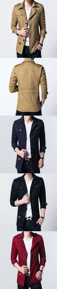 Autumn Winter men's jacket light down parka men's jackect  coat solid color Slim Fit Men Jacket Skinny thin Coat men