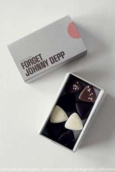 Forget Johnny Depp chocolates in a box.