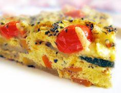—Roasted Vegetable Cheddar Qucihe