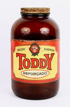 Antigo Vidro de Toddy,