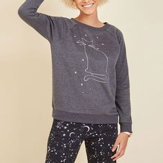 Modcloth Cosmic Critter Sweatshirt