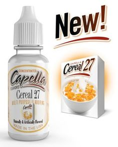 Capella Flavors: over 150 unique multi purpose flavors. Enjoy deep aroma, dense concentration and natural, unparalleled taste. No fats, calories or sweeteners! New Cereal, Flavor Drops, Corn Flakes, Types Of Food, Breakfast, Easy, Recipes, Brown Sugar, Purpose