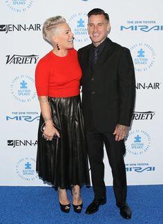 Pink And Carey Hart Red Carpet October 2015 | POPSUGAR Celebrity