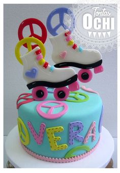 Soy Luna Cake Girl color patin