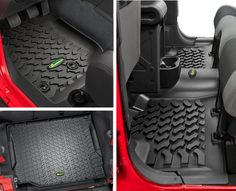 Quadratec® Ultimate All Weather Floor Liner Triple Combo | Jeep Parts and Accessories | Quadratec