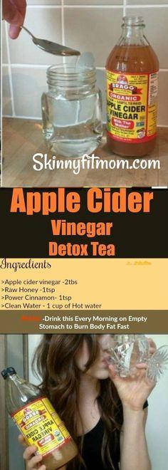 Apple Cider Vinegar Detox Tea Recipe For Weight Loss. This Works!