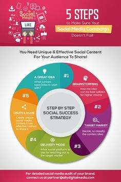 38df142009 5 Steps To Make Sure Your Social Media Campaign Doesn t Fail Infographic