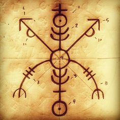 Klårsejstav - Galdr to attain clarity, strength and mental support, to a male person, who is having a hard time with relationships. Raevedis on FB. Norse Runes Meanings, Wiccan Symbols, Viking Symbols, Viking Runes, Ancient Symbols, Egyptian Symbols, Viking Rune Tattoo, Norse Tattoo, Inca Tattoo