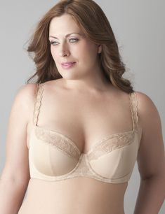 Embroidered French full coverage bra