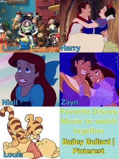 My favorite Disney movie is the little mermaid and I love niall and you see it was meant to be