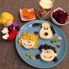 The peanuts gang sandwiches by (@sagnny)