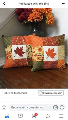 Precioussssss A umbrella – workout routines carries a tiny rinse prime along with cover up Fall Pillows, Diy Pillows, Decorative Pillows, Cushions, Patchwork Cushion, Quilted Pillow, Autumn Decorating, Fall Decor, Cushion Cover Pattern