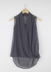 Second Hand Bluse, schwarz, 4,00€