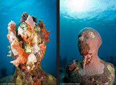 Jason DeCaires Taylor's Underwater Sculpture