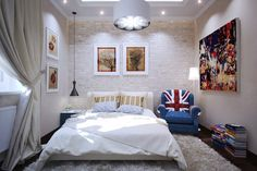 Beautiful bedroom design with unique  ideas..... | Visit : roohome.com  #bed #bedroom #design #decoration #amazing #awesome #gorgeous #fabulous #unique #simple #creative #interior #great #elegant #minimalist
